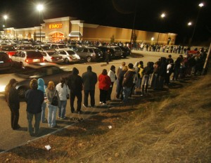 black friday long lines