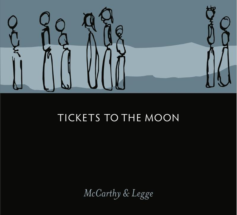 Tickets to the Moon CD Cover Butch Dorri