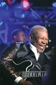 B.B. King at the Zeiterion Theatre
