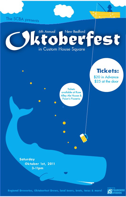 2011 New Bedford Oktoberfest Flyer