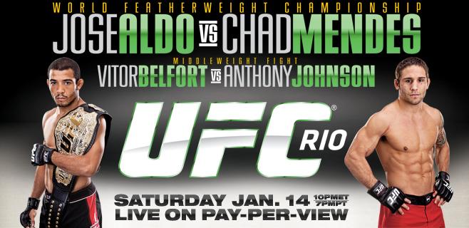 UFC 142 Card