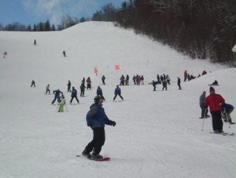 Skiing Waterville Valley New Hampshire