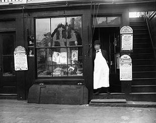 Frank Jones' Store on Kempton Street