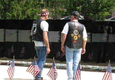 The Moving Wall Vietnam Veterans Memorial