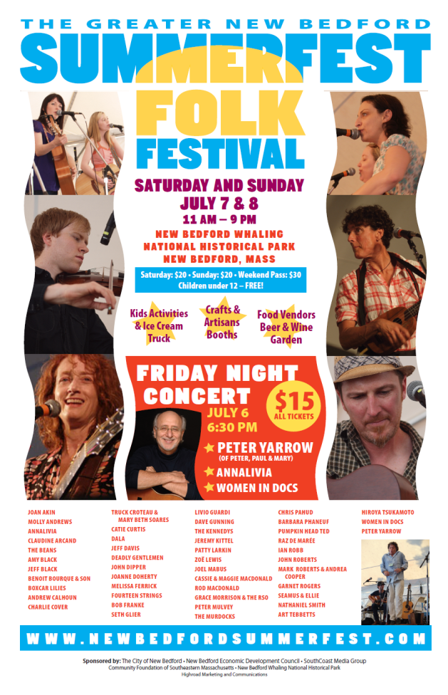 New Bedford SummerFest Flyer