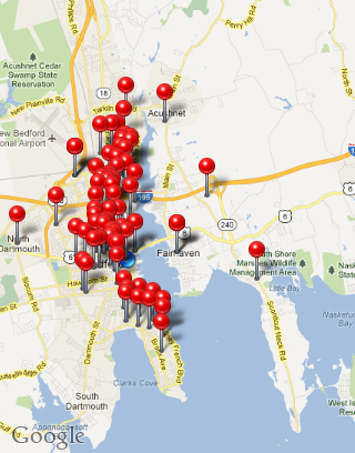 New Bedford Sex Offender Map