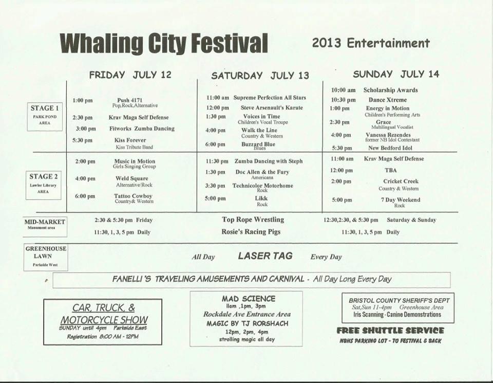 Whaling City Festival Car Show