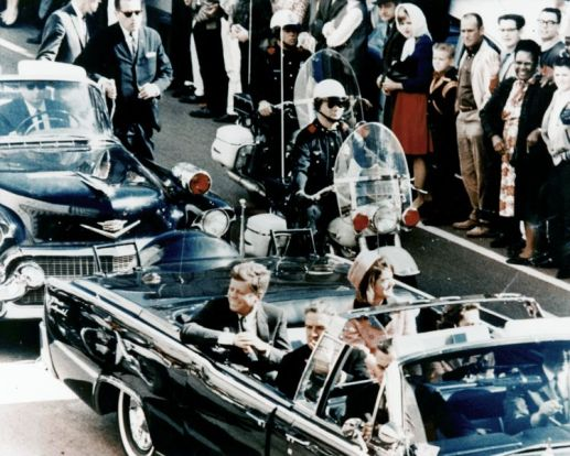 JFK-limousine-assassination