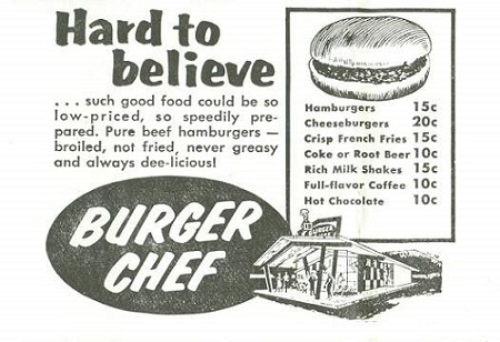 who remembers burger chef new bedford guide