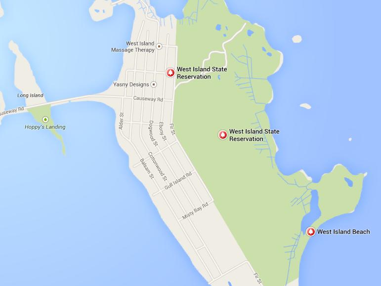 West Island Beach Fairhaven ma West Island in Fairhaven