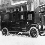 New Bedford Police Ambulance