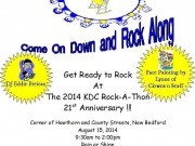 Rock-A-Thon Flyer 2014