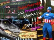 Superhero-Princesses Weekend - Edaville