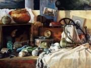 JOHN GAMACHE TimeCatcher Giclee print on canvas 23 x 34