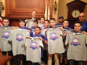 Mayor Mitchell and NB Police  Youth Baseball Team- All City Champs