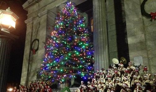 new-bedford-christmas-tree-lighting-2014 - New Bedford Christmas Tree Lighting Celebrations 2014 €� New Bedford