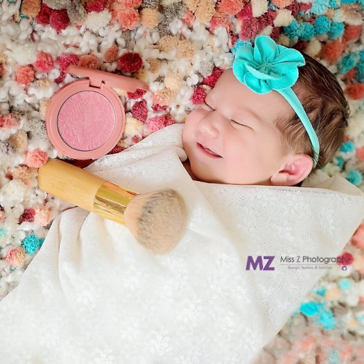Miss Z Photography Specializes In Milestones For Newborn Maternity
