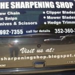 the sharpening shop