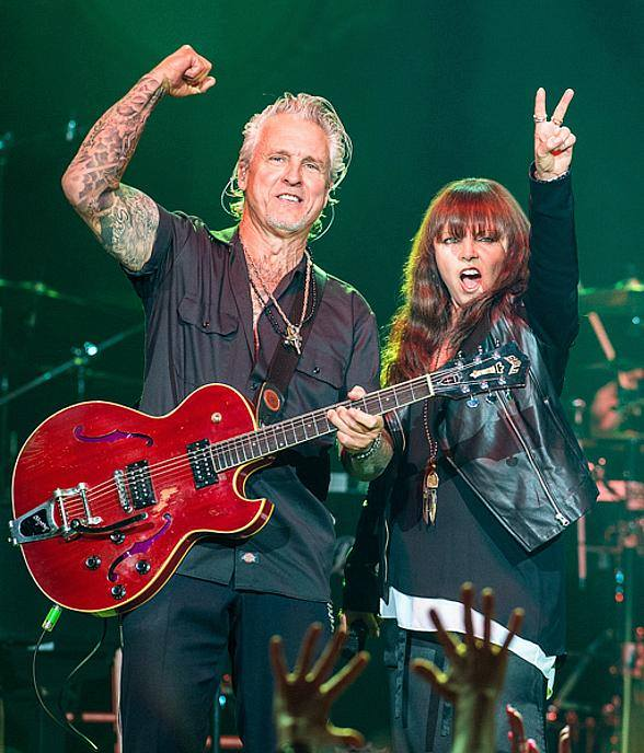 Pat Benatar & Neil Giraldo rock the Zeiterion Theatre!