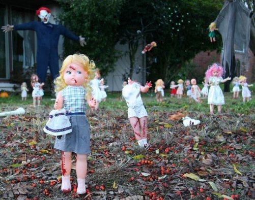 Pics photos home halloween decorations cemetery scary groundbreaker