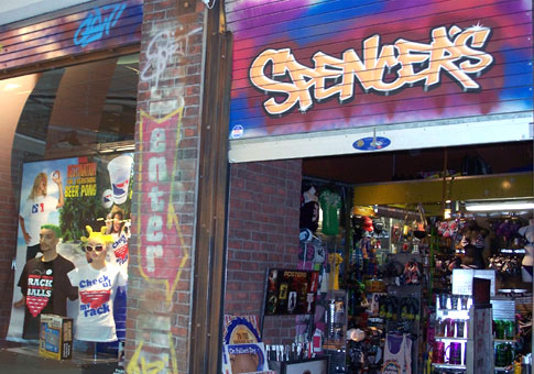 spencers gifts