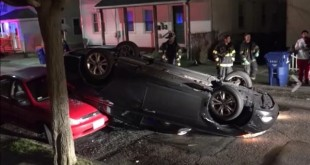 car-flips-new-bedford