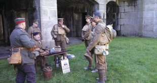 WWI encampment