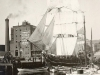 bertha-drying-her-sails-at-central-wharf