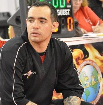 Instructor Joseph Botelho has his black belt under Tony Cogliandro and Dan D'Onfro.