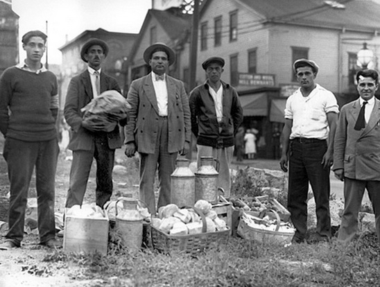 spinner-tcm-workers-with-donated-food-and-milk-on-an-empty-lot-on-south-water-street