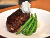 black whale filet mignon wrapped in bacon truffle whipped potatoes green beans and a horseradish cream.jpg