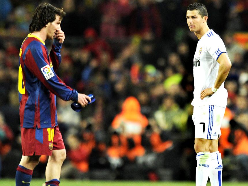 Messi Ronaldo El Clasico