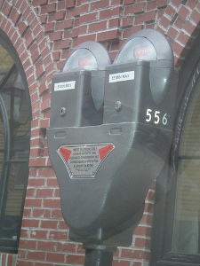 New Bedford Parking meter holiday program