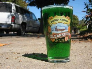 green beer st. patricks day