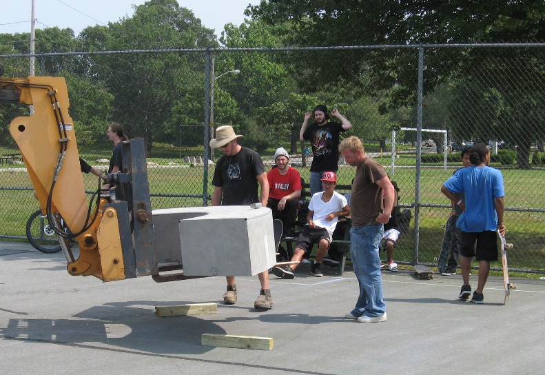 skate park expansion at Brooklawn Park