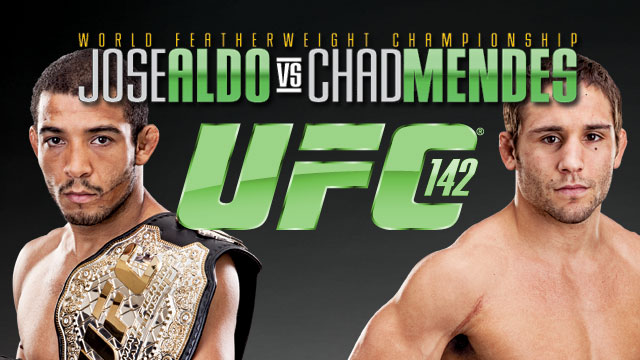 UFC 142 Jose Aldo vs Chad Mendes Preview