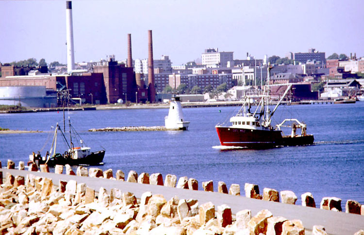 New Bedford MA Harbor