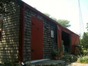 Silverbrook Farm Dartmouth CSA Pick up Area