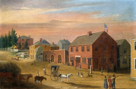 Four Corners 1807 by William Allen Wall