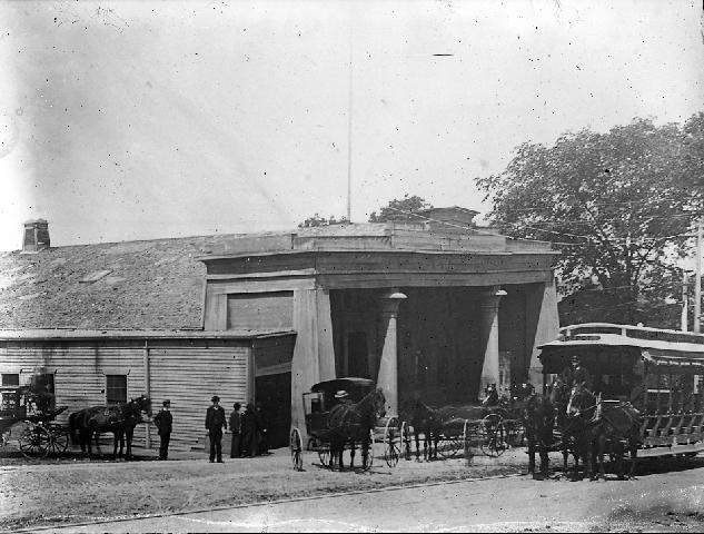 omnibus and pearl street depot