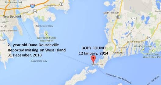 Dana-Dourdeville-body-found-map