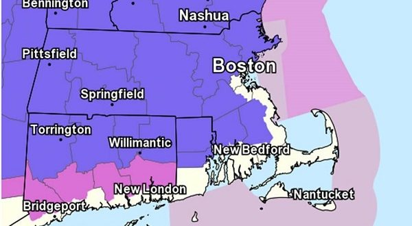 Winter Storm Watch Issued For Eastern Massachusetts And Rhode Island New Bedford Guide
