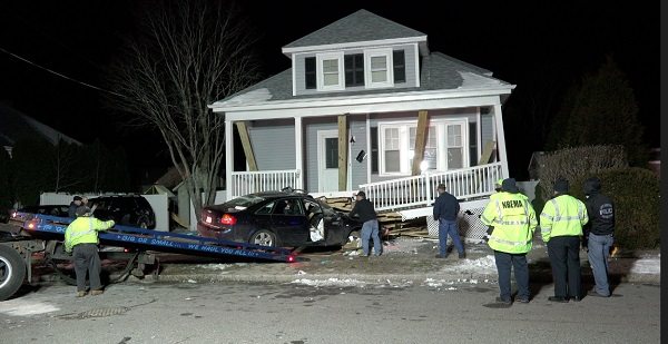 16-year old crashes into home on Orleans Street while