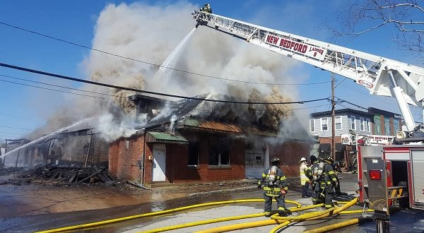 New Bedford Fire Fighters Battle Three Alarm Fire On Mount