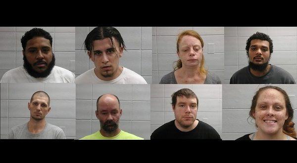 Police arrest eight in a sweep across Wareham - New Bedford Guide
