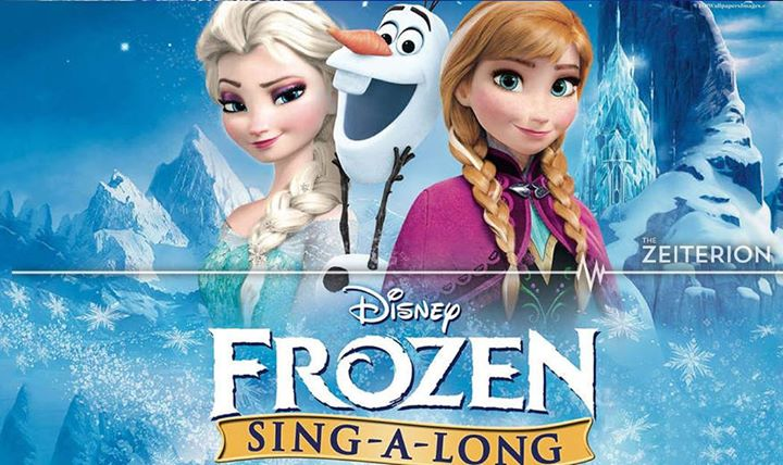 Frozen movie sing a long new bedford guide frozen movie sing a long voltagebd Gallery