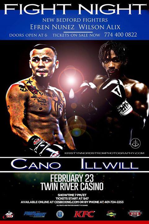 Live with New Bedford boxers Wilson Carvalho & Efren Nunez