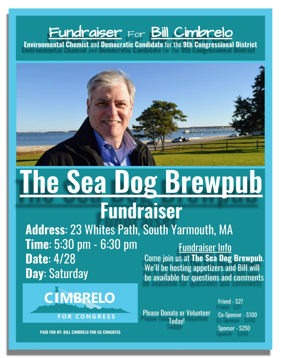 Meet And Greet With Bill Cimbrelo At Sea Dog Brew Pub New Bedford