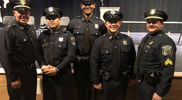 Three recruits graduate, set to join the New Bedford Police