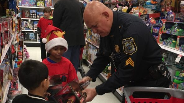 """Another successful """"Presents with Police"""" bonds New Bedford"""